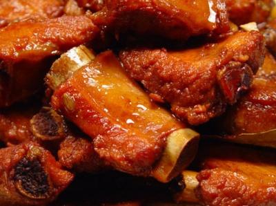 свиные ребрышки рецепт в кисло сладком соусе